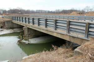 The Kuhl Road bridge in Fairhaven Township. The bridge is one of two in Huron County listed to receive federal funds as part of the INVEST in America Act. (Tribune File Photo)