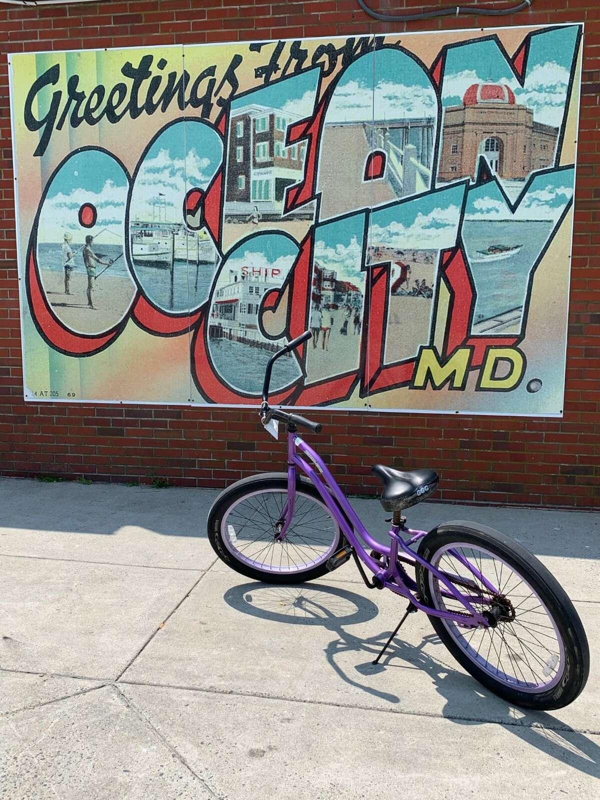 A shot from Ocean City's boardwalk.