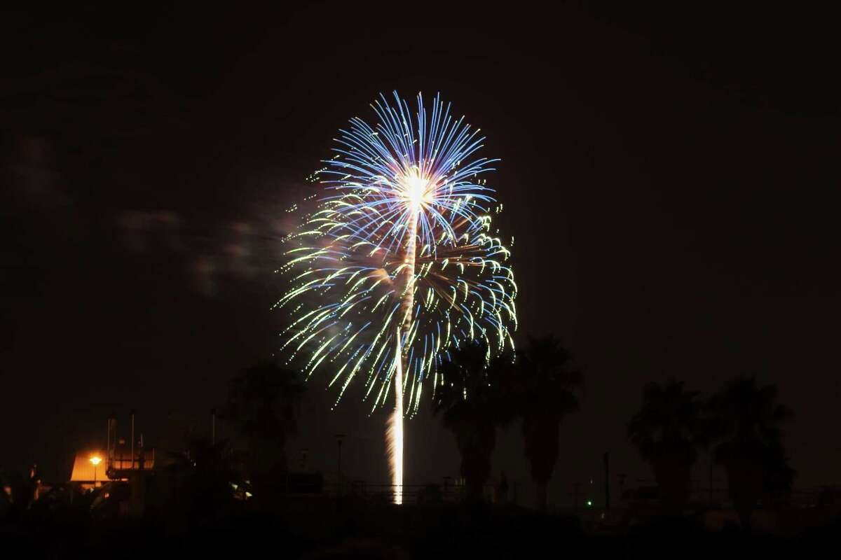 """The Woodlands will host an 18-minute """"Fireworks Extravaganza"""" on Sunay, July 4, at approximately 9:30 p.m. at four locations throughout the township The main fireworks display will be launched from a barge in Lake Woodlands adjacent to Northshore Park, with a secondary close-proximity, special effects, display at Town Green Park and Waterway Square near Timberloch Place and Waterway Avenue. There will also be fireworks at Rob Fleming Park in the Village of Creekside Park. """"Teaser"""" shots will be fired from all launch locations at 9 p.m., 9:10 p.m., and 9:20 p.m. to prepare residents for the main show at 9:30 p.m. JUly 4."""