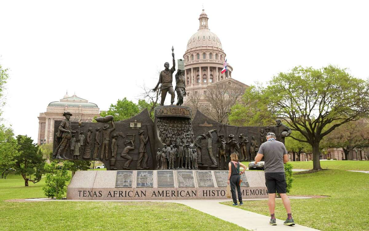 The Texas State Capitol in Austin on Tuesday, March 30, 2021.