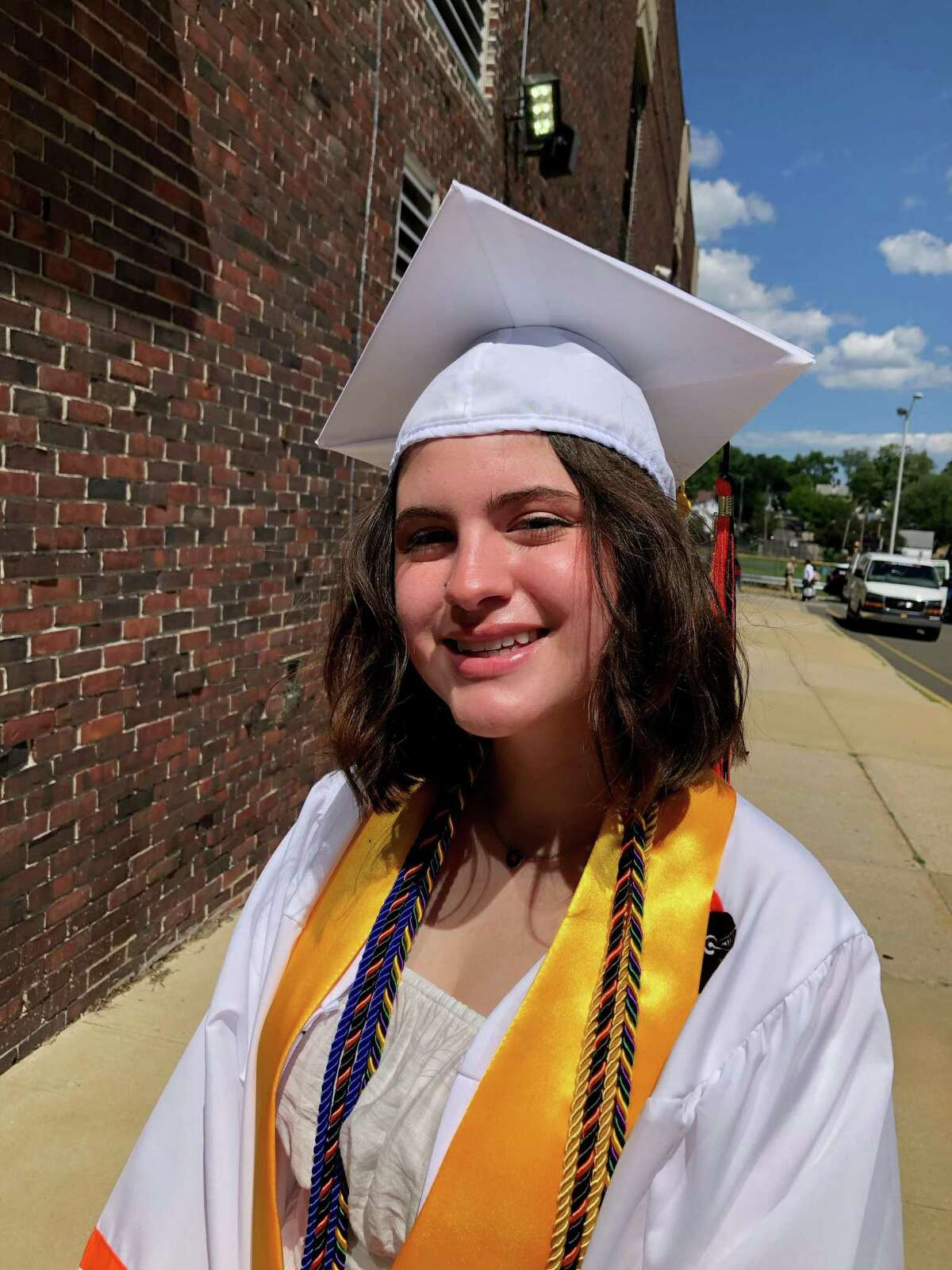 Stamford High School graduate Nina Giancola