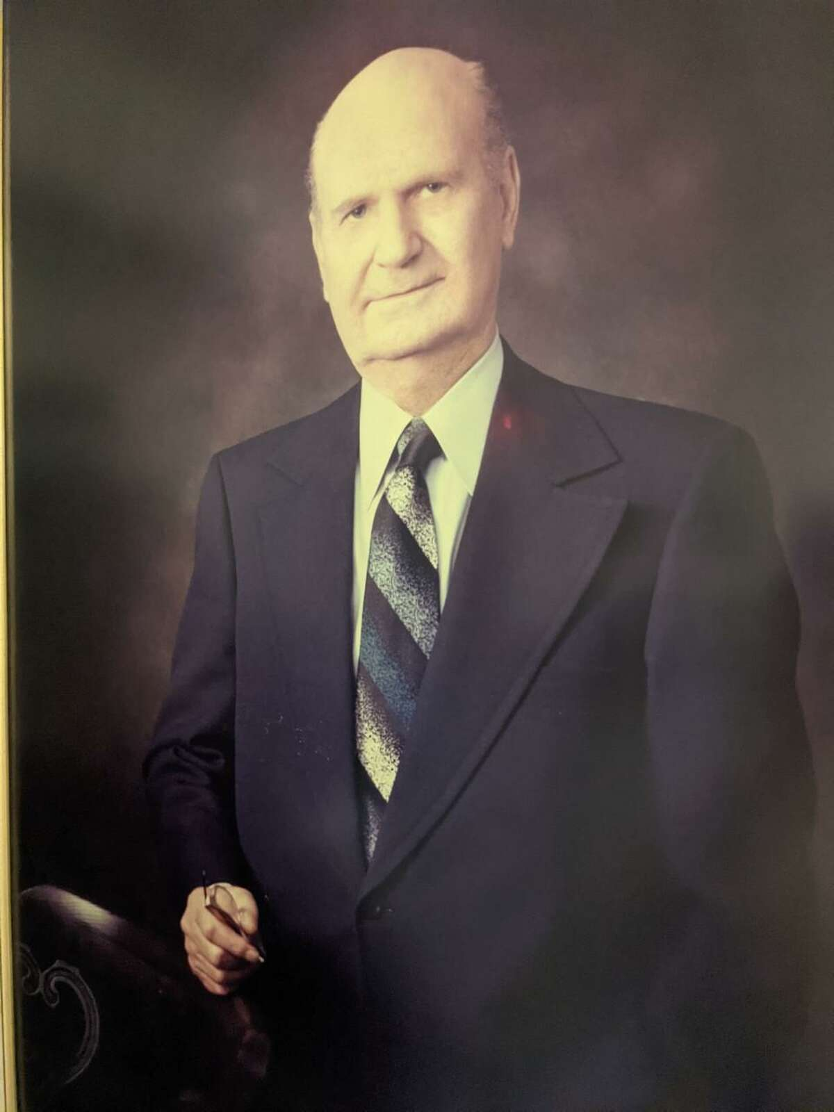 """Horace Max """"H.M."""" Landrum was Spring Branch ISD's first superintendent, serving from 1941-1976"""