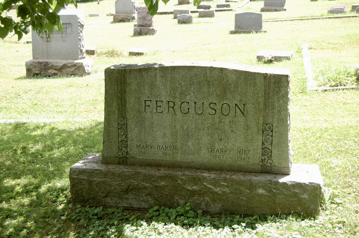 """H.H. Fergusonwas the founder of the Illinois Terminal Railroad. Huber points out, """"He owned the big house on the corner of 15th and Liberty, and the Illinois Youth Camp up in Grafton - those great big beautiful buildings - that was his dairy farm, and he donated that to the state."""""""