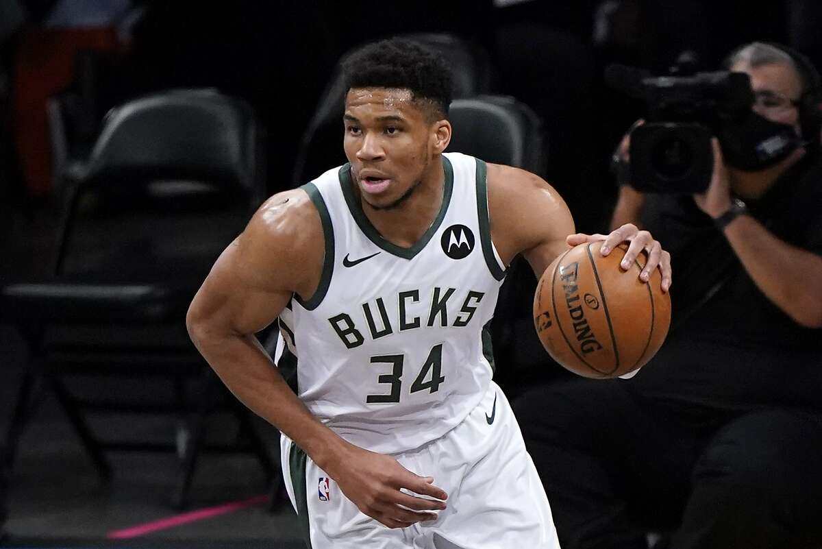 Forward Giannis Antetokounmpo and the Bucks will try to force a Game 7 in their Eastern Conference semifinal series with Brooklyn when they take on the Nets in Milwaukee at 5:30 p.m. Thursday (ESPN).