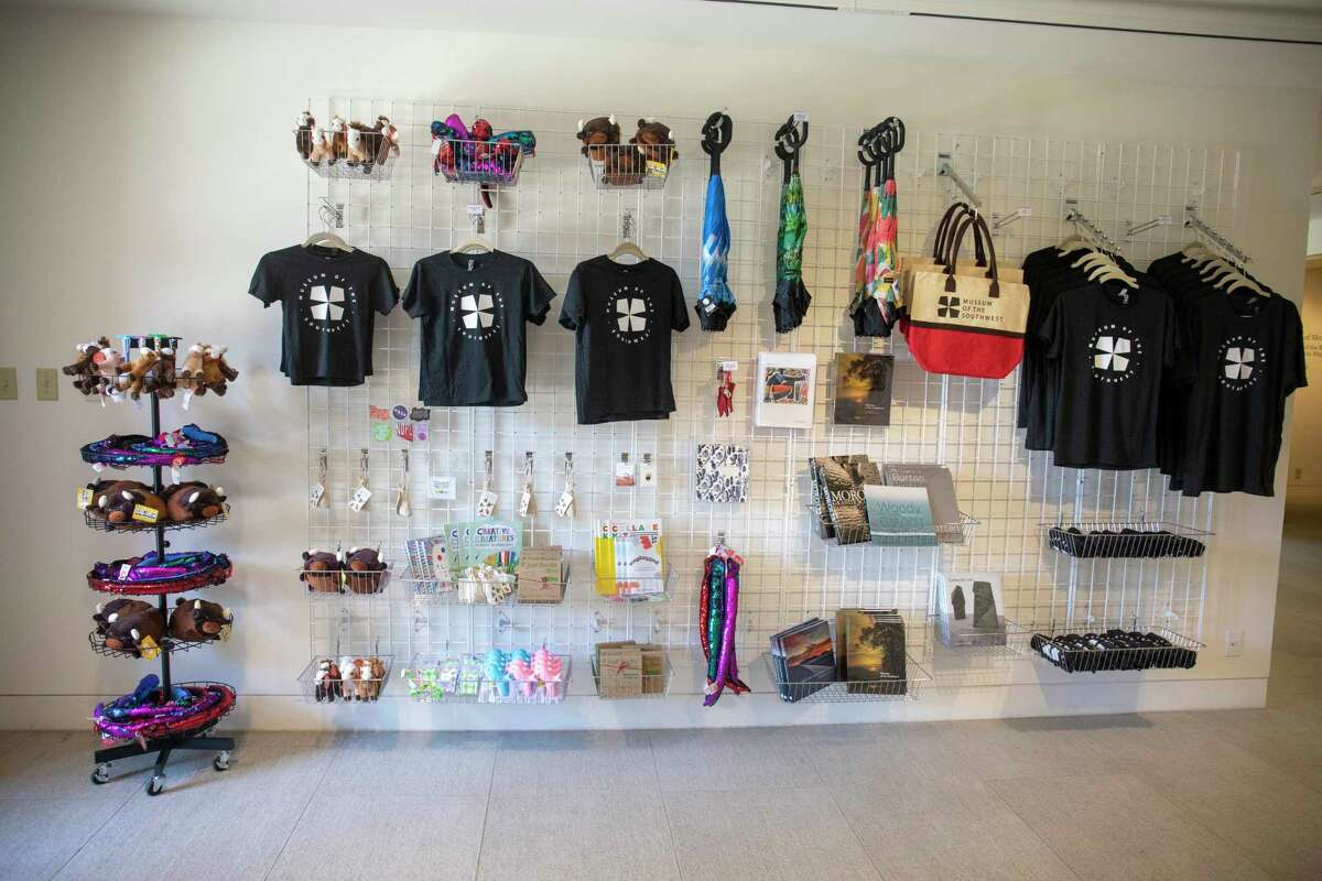 The museum opened a gift shop as seen Friday, June 11, 2021 at the Museum of the Southwest. Jacy Lewis/Reporter-Telegram