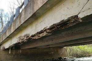 A bridge on Willow Street over Willow Brook in Hamden as pictured in an April 2020 state inspection report.