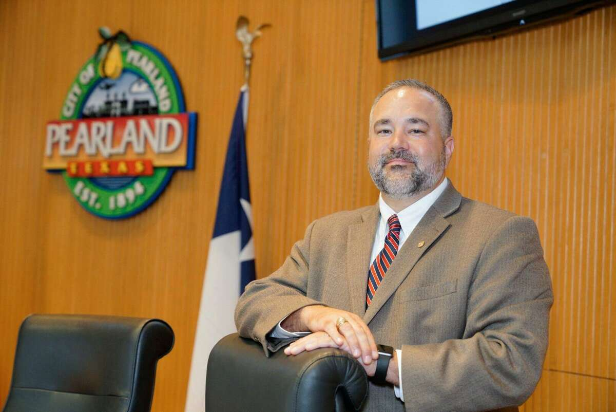 Pearland City Council member Trent Perez was one of five members of the council who voted to authorize a ballot measure for next May that will propose establishing a drainage district for the city.