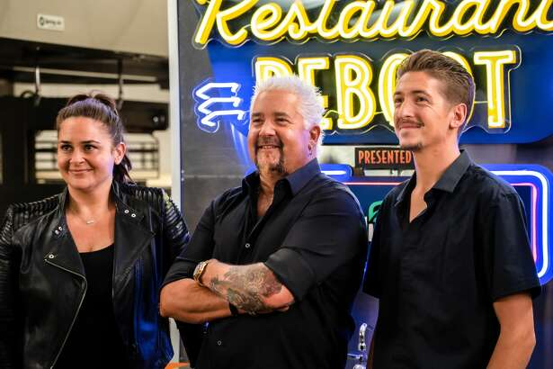 """On his new show """"Guy's Restaurant Reboot,"""" Guy Fieri presented Maya Halal Taqueria owner Margalara Safi with a $25,000 grant."""
