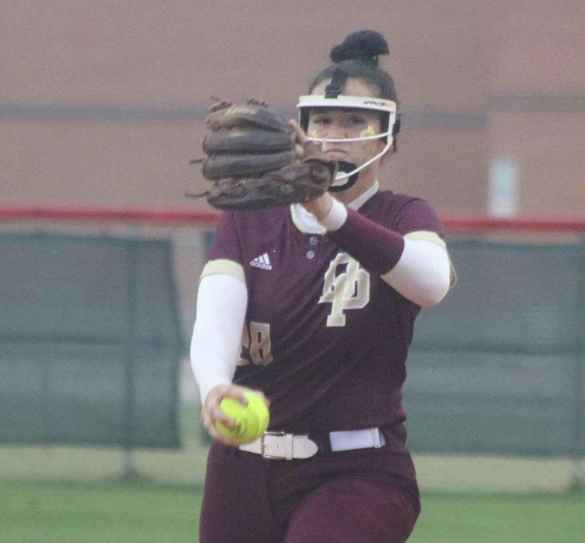 Deer Park's Madison Applebe, co-Pitcher of the Year recipient.