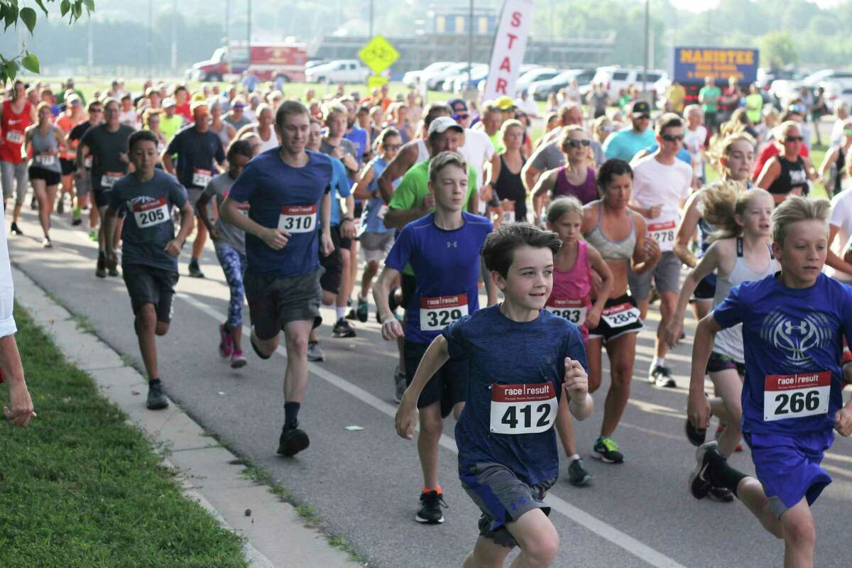 The annual Firecracker 5K will return in person on July 3. (News Advocate file photo)