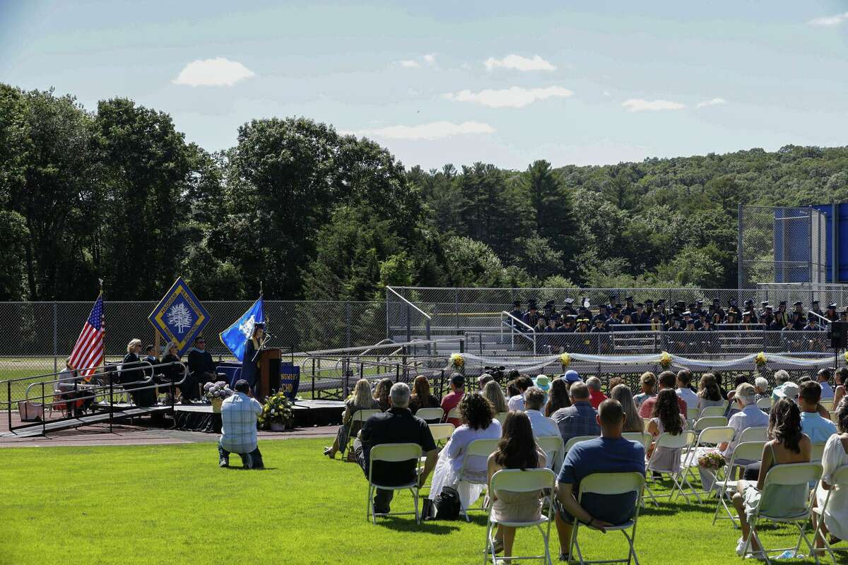 Haddam-Killingworth High School graduated 173 seniors Wednesday afternoon.