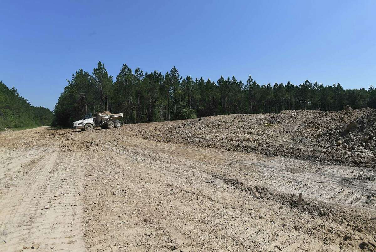 Lumberton has announced its agreement with Brampton Essential LP to develop a 3,200-acre parcel of land along FM 421, which will house both commercial and residential properties, including the proposed Longleaf Subdivision. Photo made Wednesday, June 16, 2021 Kim Brent/The Enterprise