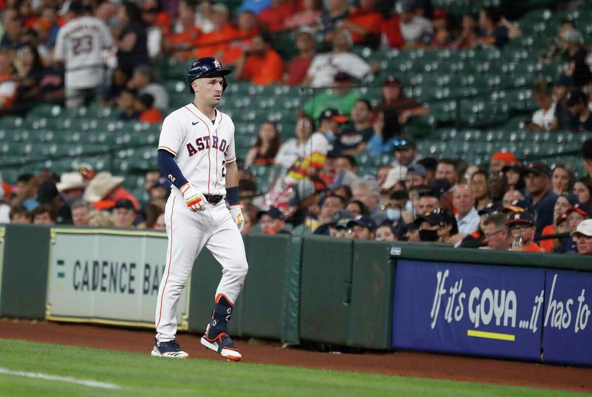 Alex Bregman, out since June 15, may be sidelined at least a couple more weeks with a left quad strain.