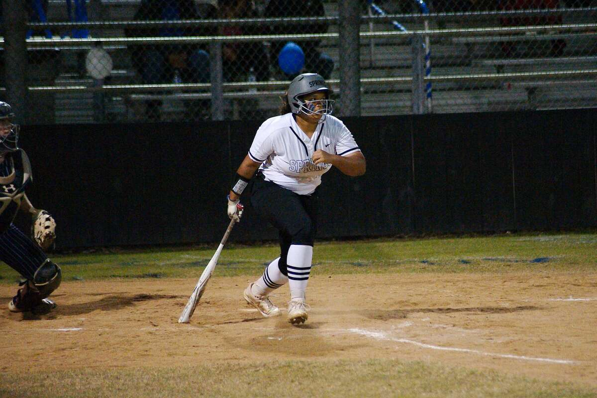 Clear Springs' Anna Soles (20) was selected to the all-District 24-6A softball first team.