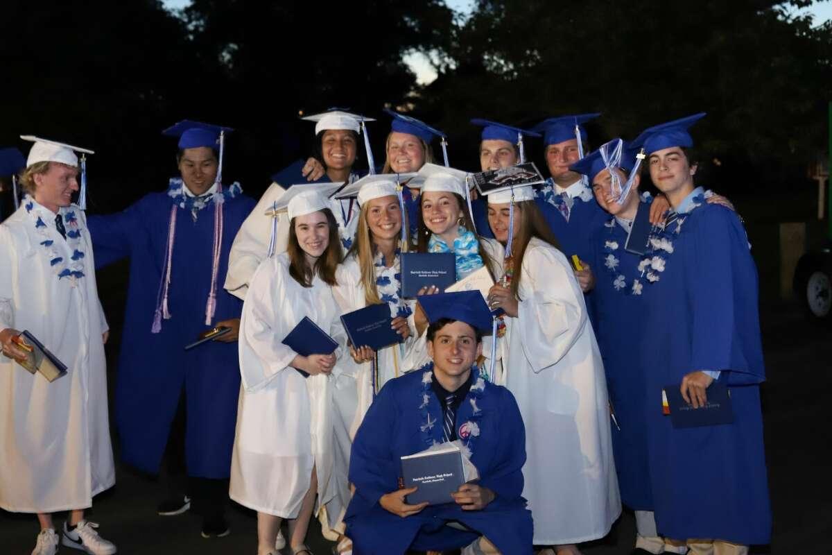 Fairfield Ludlowe High School's graduation ceremony was held at Jennings Beach in Fairfield on June 16, 2021.