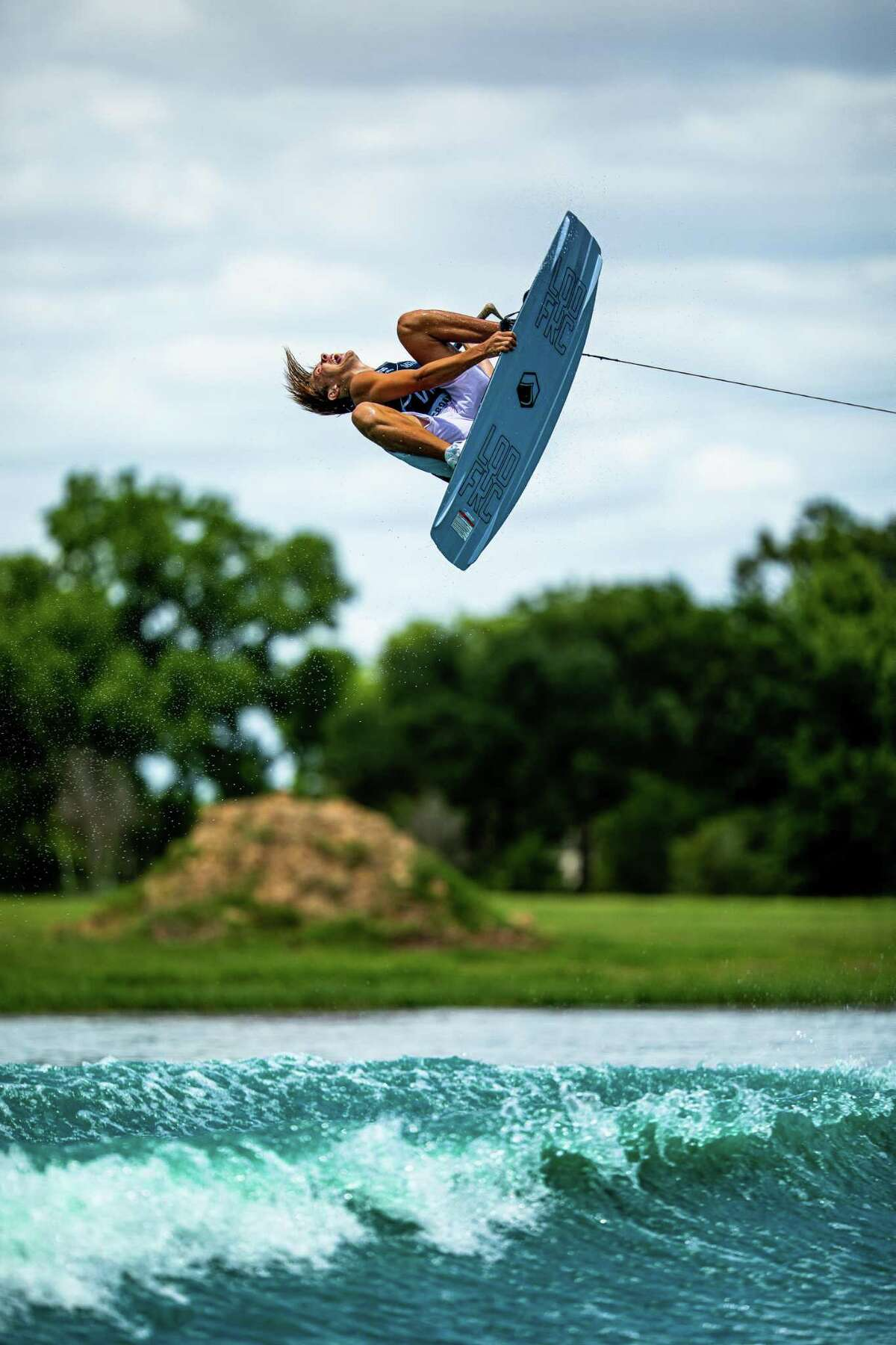 The Pro Wake Tour opened its 2021 season with a flourish June 12 at August Lakes in Katy, with many of the world's best wakeboarders and wakesurfers competing.