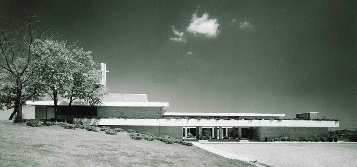 Alden B. Dow was selected as architect and began the design of a new building for Christ Episcopal Church in Adrian, Michigan after the original was destroyed in a fire in 1958. (Photo provided/Alden B. Dow Home and Studio)
