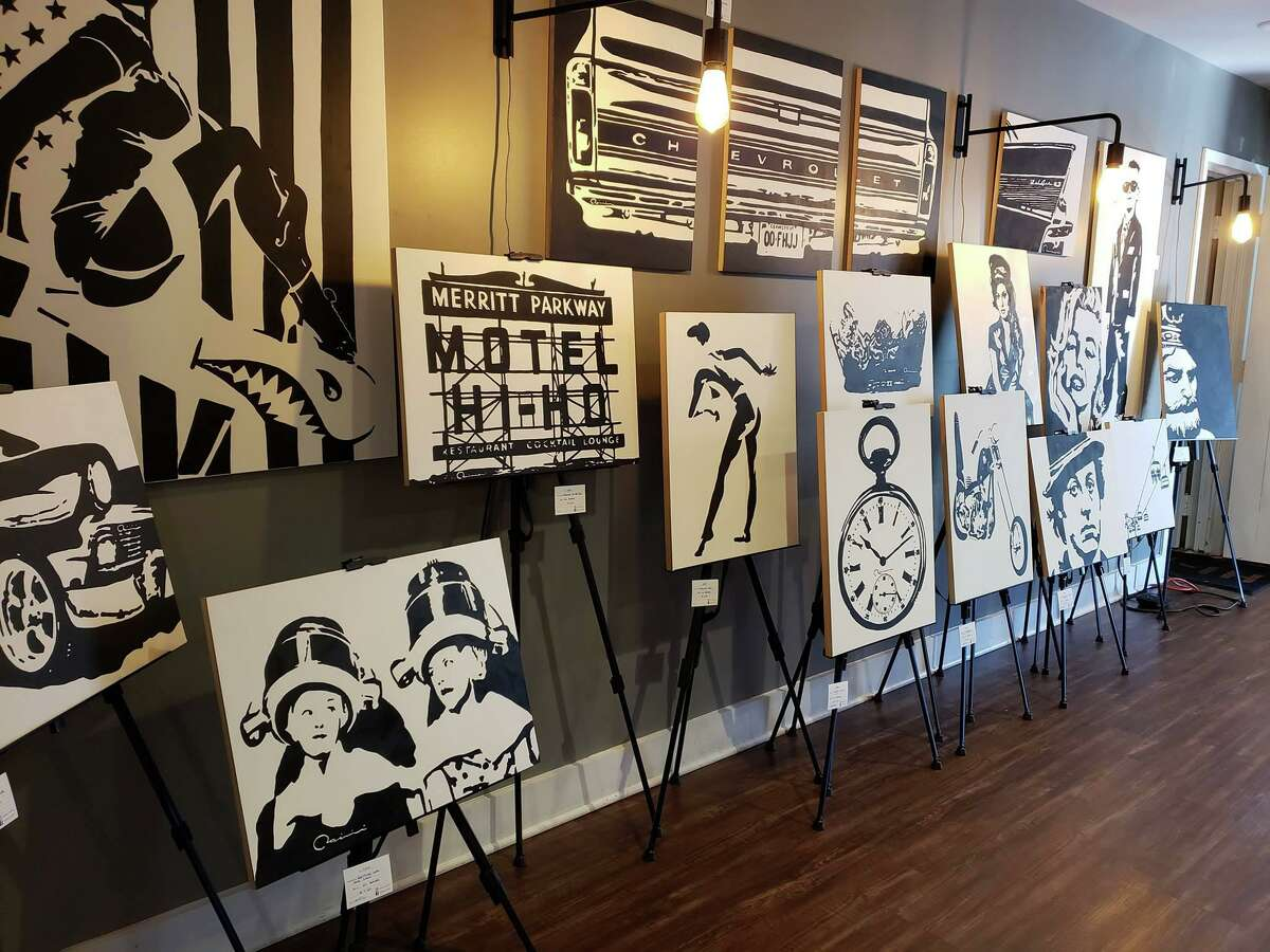 Hotel Hi-Ho and the Fairfield Circle Inn have long been a hub for local artists, including showing their work in the lobby.