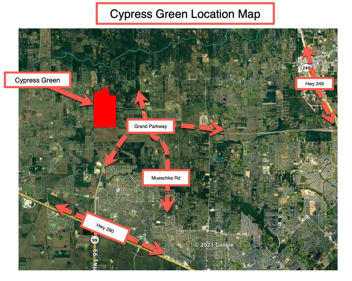 Land Tejas has acquired land in northwest Harris County for development of the Cypress Green community in Hockley.