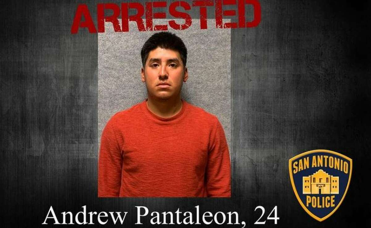 A man accused of stabbing a woman at Santikos Palladium earlier this month turned himself in on Wednesday, according to the San Antonio Police Department.
