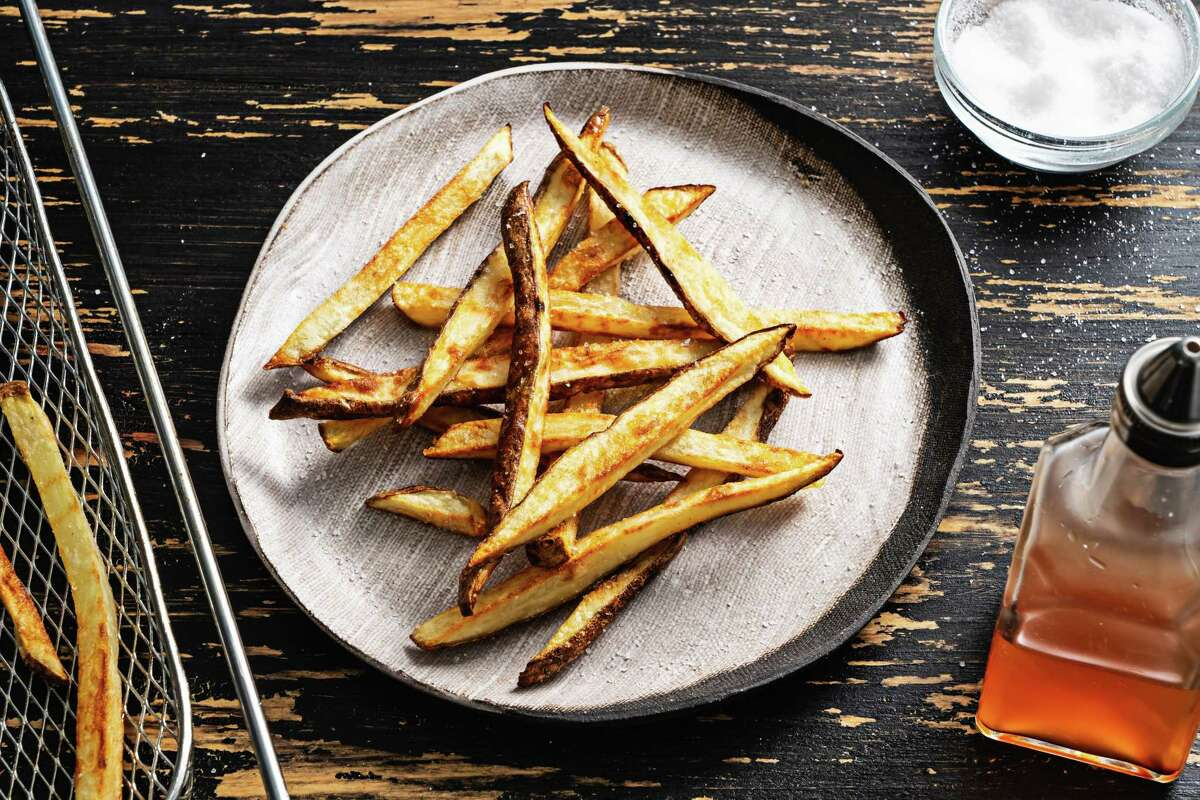 Crispy Air-Fryer Fries.