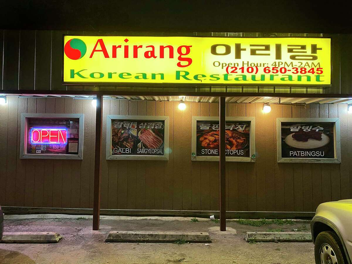 Arirang is a Korean restaurant on Austin Highway that's open past midnight six nights a week.
