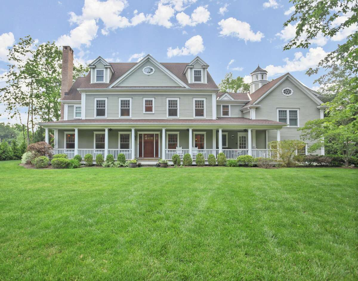 """The 2 Old Farm Lane home in Old Greenwich, Conn., owned by longtime producer of """"The Howard Stern Show"""" Gary Dell'Abate, sits on 1 acre of land in Hillcrest Park's Old Farm Lane Association."""