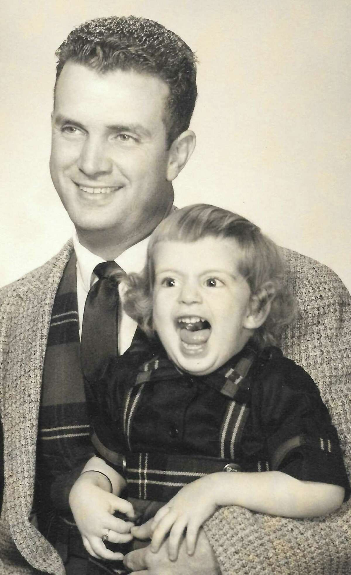 """Jack Ramsay keeps calm and carries on with daughter Annetta. """"Dad's greatest legacy was saying the right thing at the right time."""""""