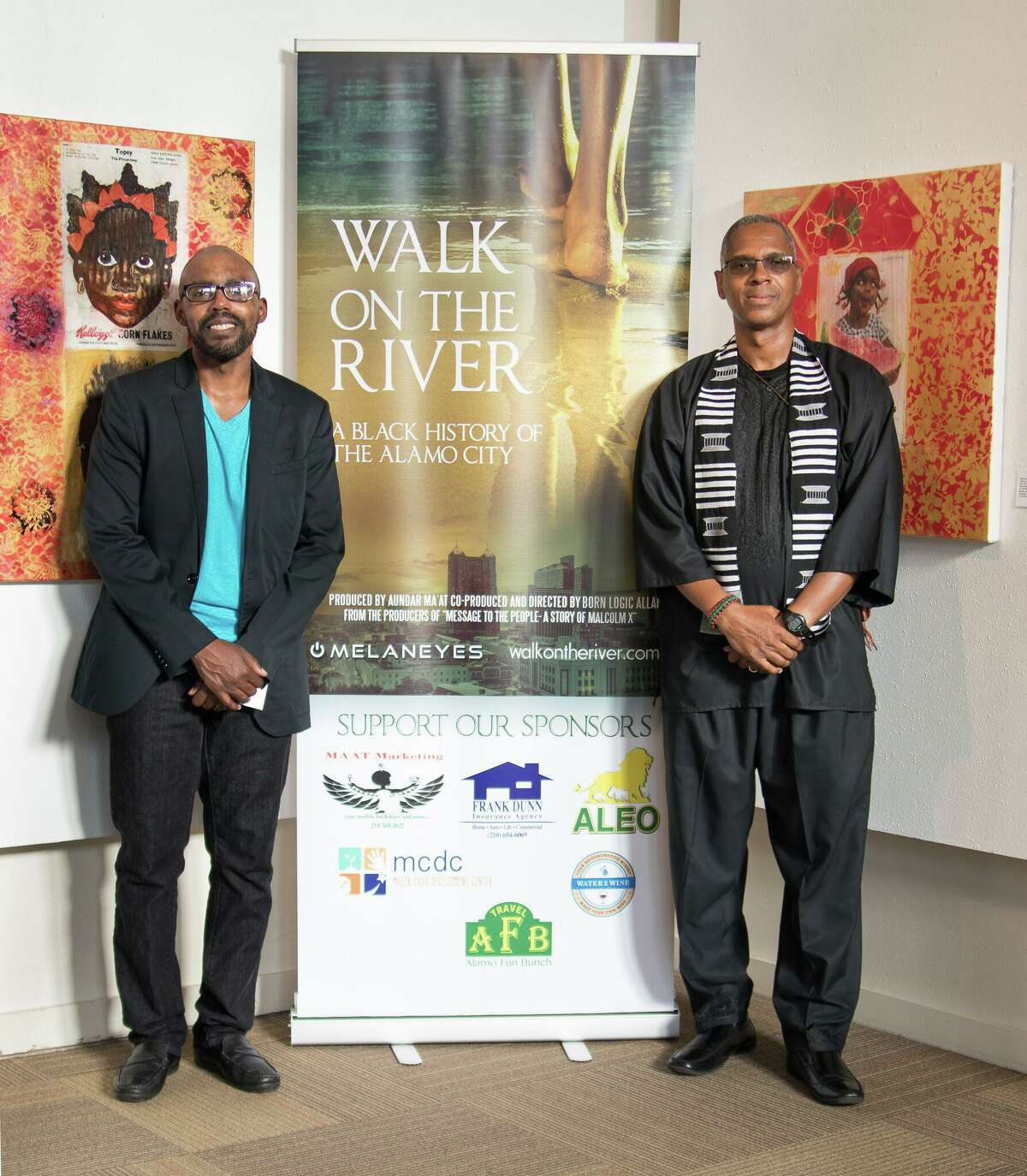 """Filmmakers Born Logic Allah and Aundar Ma'at will discuss their documentary film, """"Walk on the River,"""" at a screening Friday night in observance of Juneteenth, which is Saturday."""