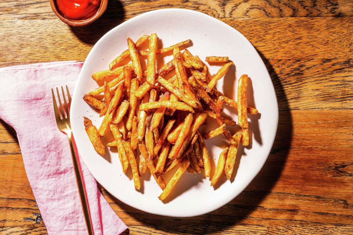 Cold-Fried French Fries.