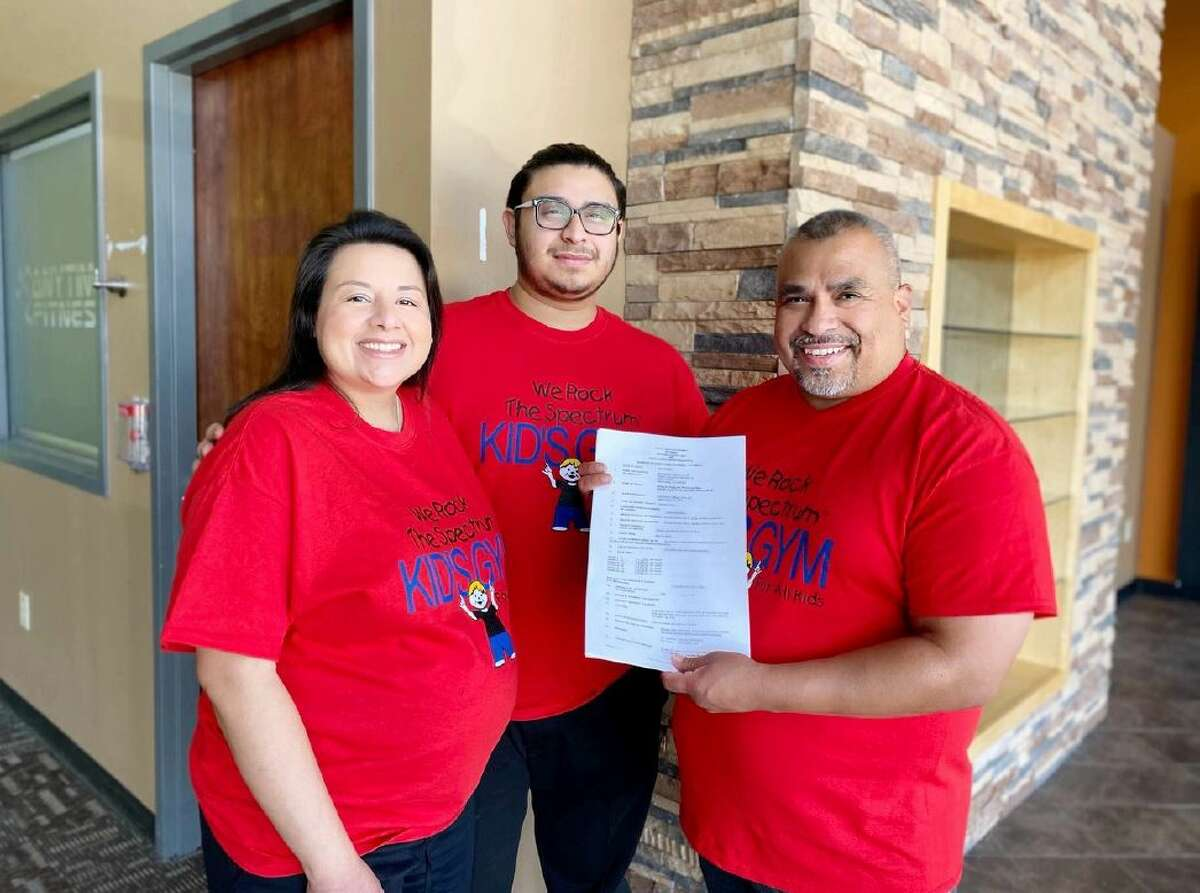 Art and Melinda Garcia of San Antonio are the new owners of We Rock the Spectrum, a kids play and gym space made with sensory sensitivies in mind.
