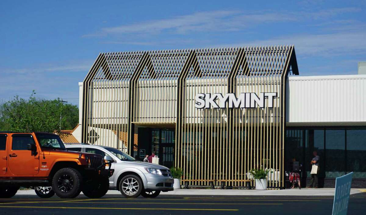 The Big Rapids location is the Skymint's 13th storefront to open in Michigan with the name and despite the slew of provisioning centers that have already opened. (Pioneer photo/Joe Judd)