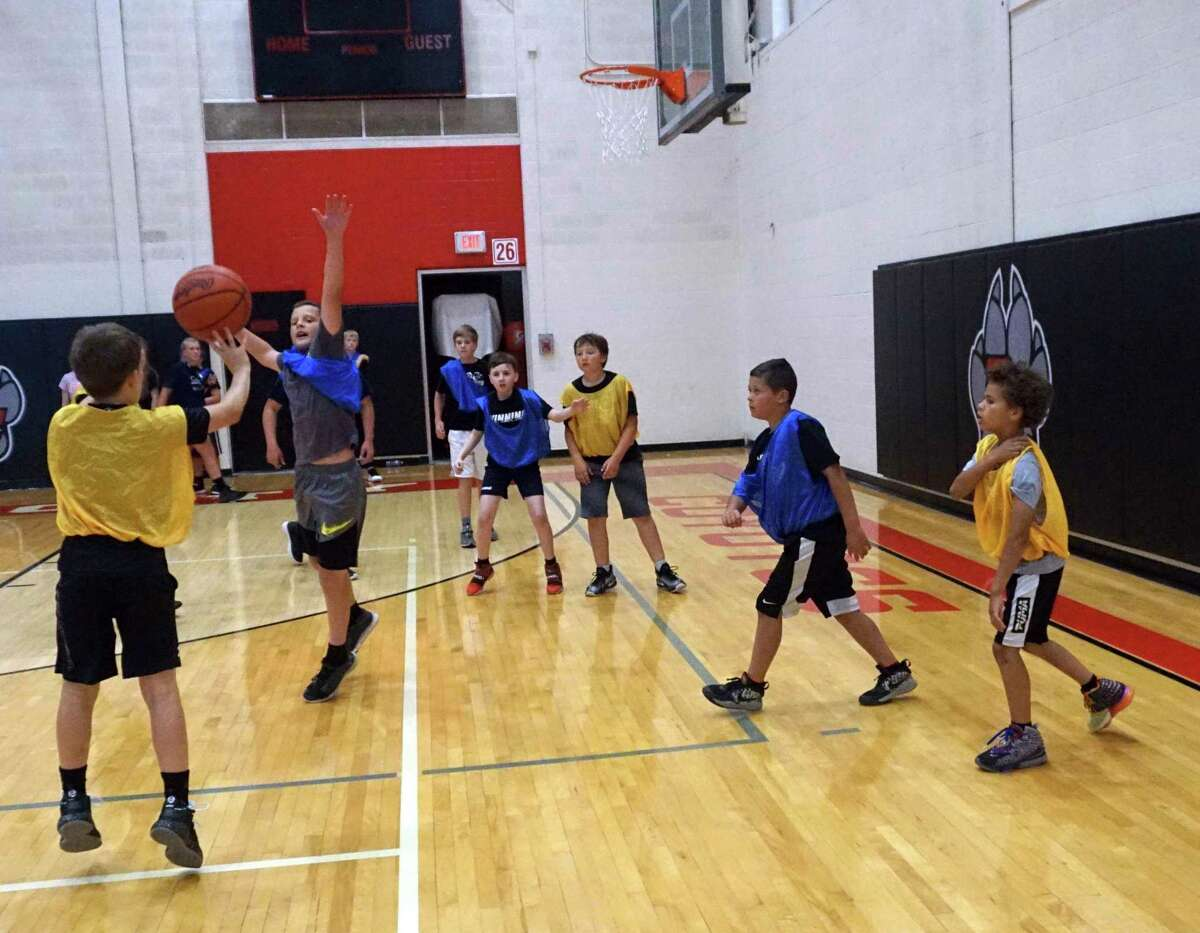 From June 15-17, the first-ever Coyote Camp took place at Reed City High School. (Pioneer photo/Joe Judd)