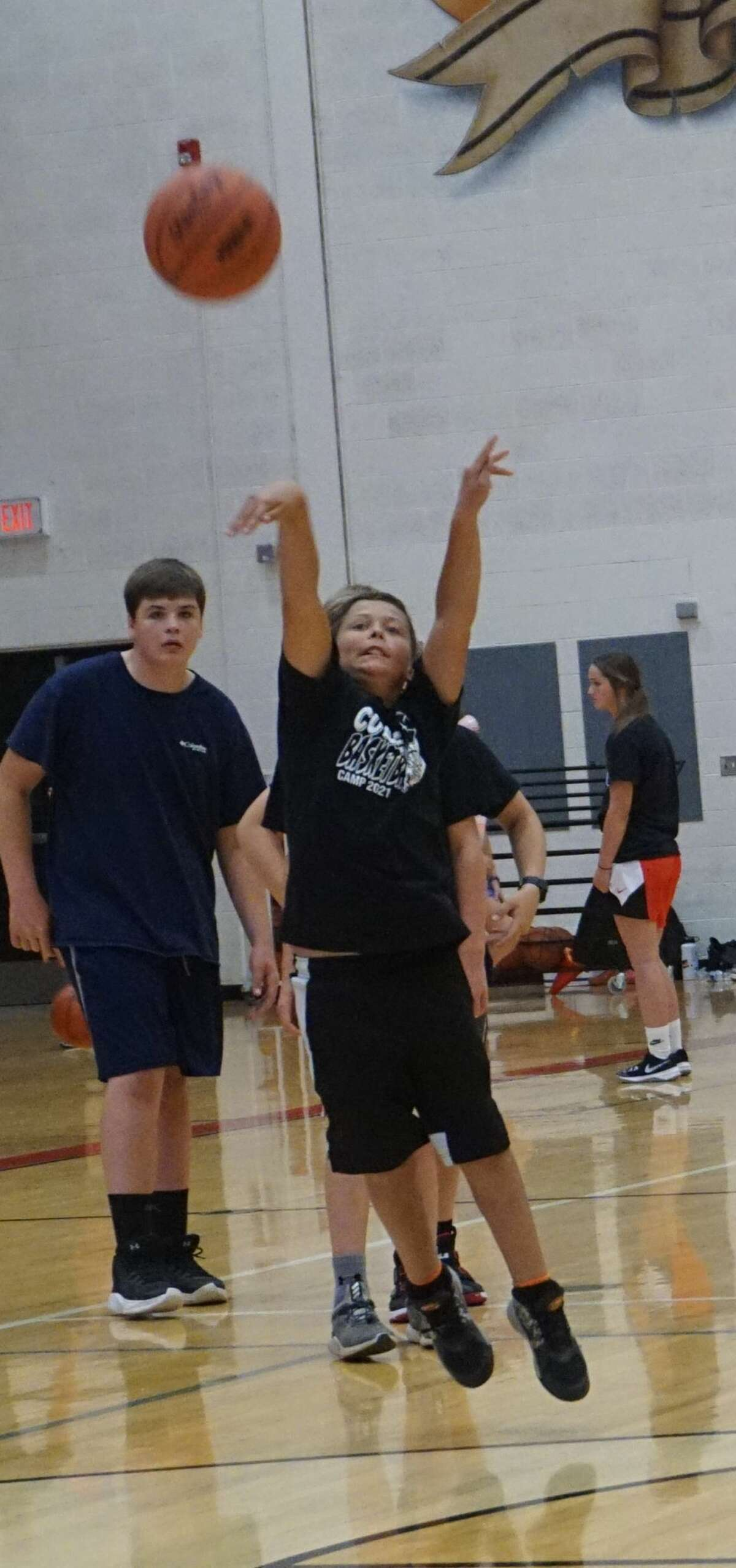 Thursday marked the third and final day of the first-ever Coyote Basketball camp.