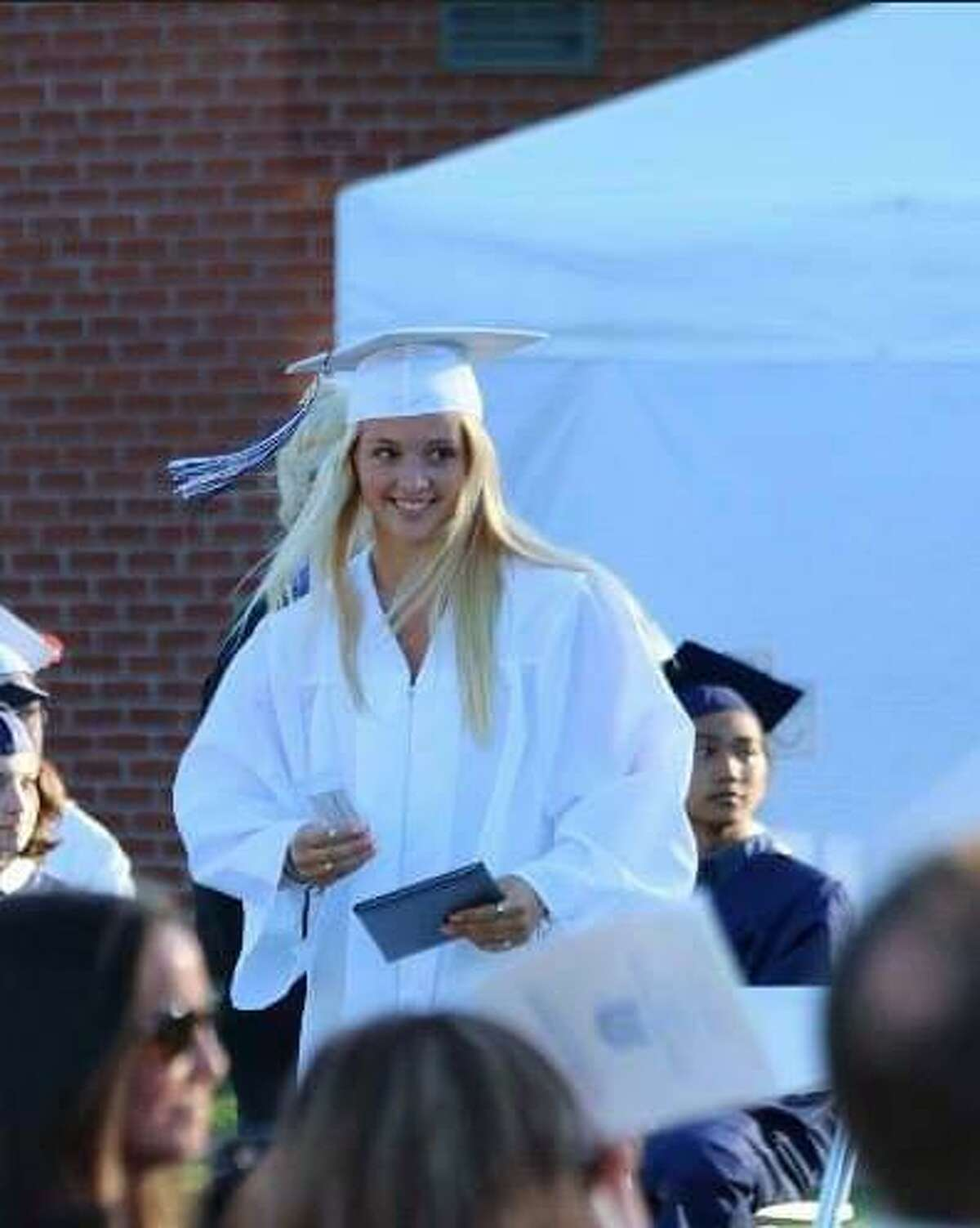 Pictured is Colleen Edwards, recent graduate of The Morgan School in Clinton.