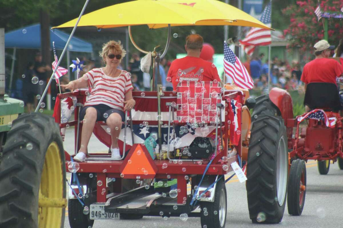 Bubble machines, old tractors - it'll all be returning when the city of Friendswood celebrates with an hour-long parade starting at 10 a.m. July 5.