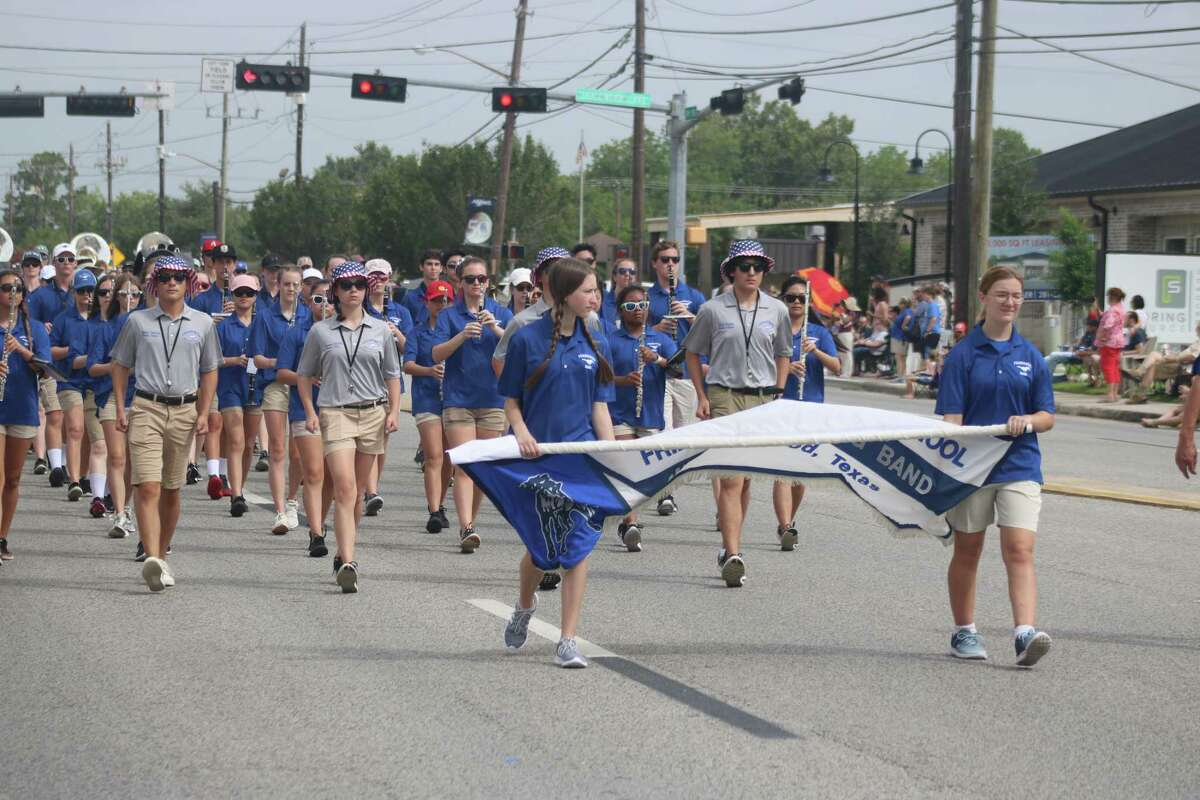 The Friendswood High School band will likely be ushering in the return of the city's parade on July 5.