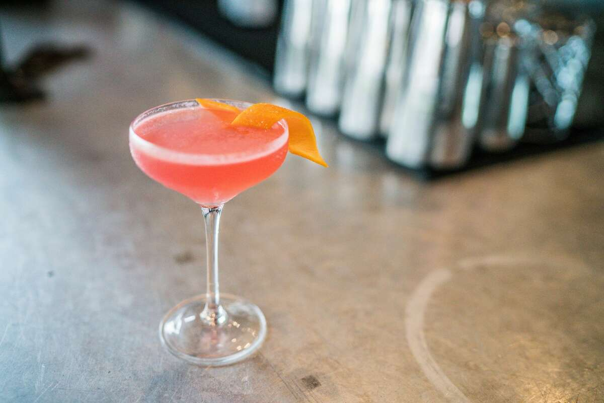 FM Kitchen & Bar is known for its food and signature drinks, like this cosmopolitan.