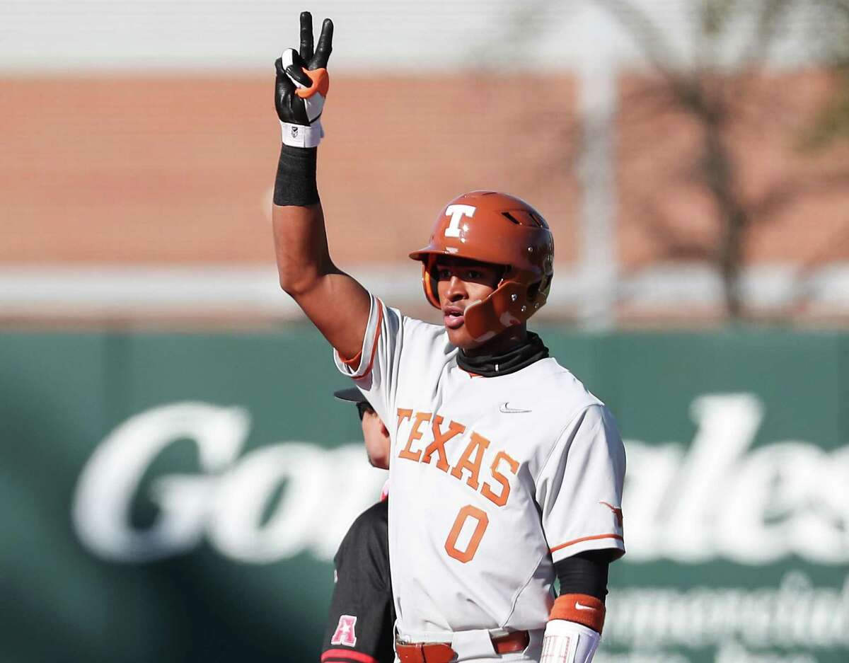 In Texas' five NCAA regional and super regional games, shortstop Trey Faltine went 8-for-19 (.421) with three doubles, six runs and six RBIs.