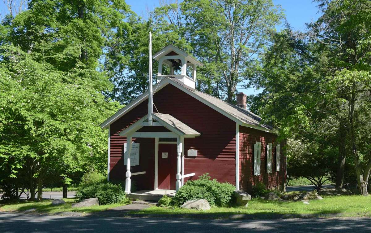 The Peter Parley Schoolhouse will be reopening to the public. The mid-18th century schoolhouse was named after Samuel Goodrich who penned several children's textbooks under the name Peter Parley. Thursday, June 17, 2021, in Ridgefield, Conn.