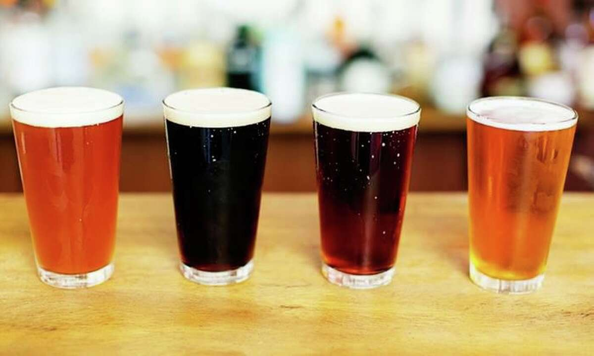 Stout House sells flights of beer that include four 4-ounce pours for $8.