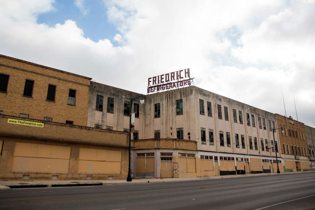 Friedrich Building complex, most of the buildings are listed on the National Register of Historic Places, Thursday Sept. 11, 2014.