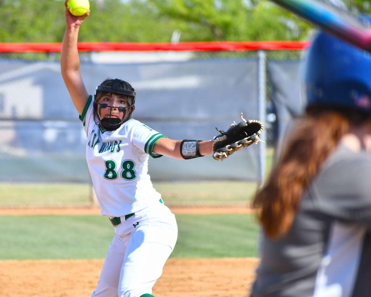 Floydada's Erin Trevino earned All-State honors from the Texas Girls Coaches Association.
