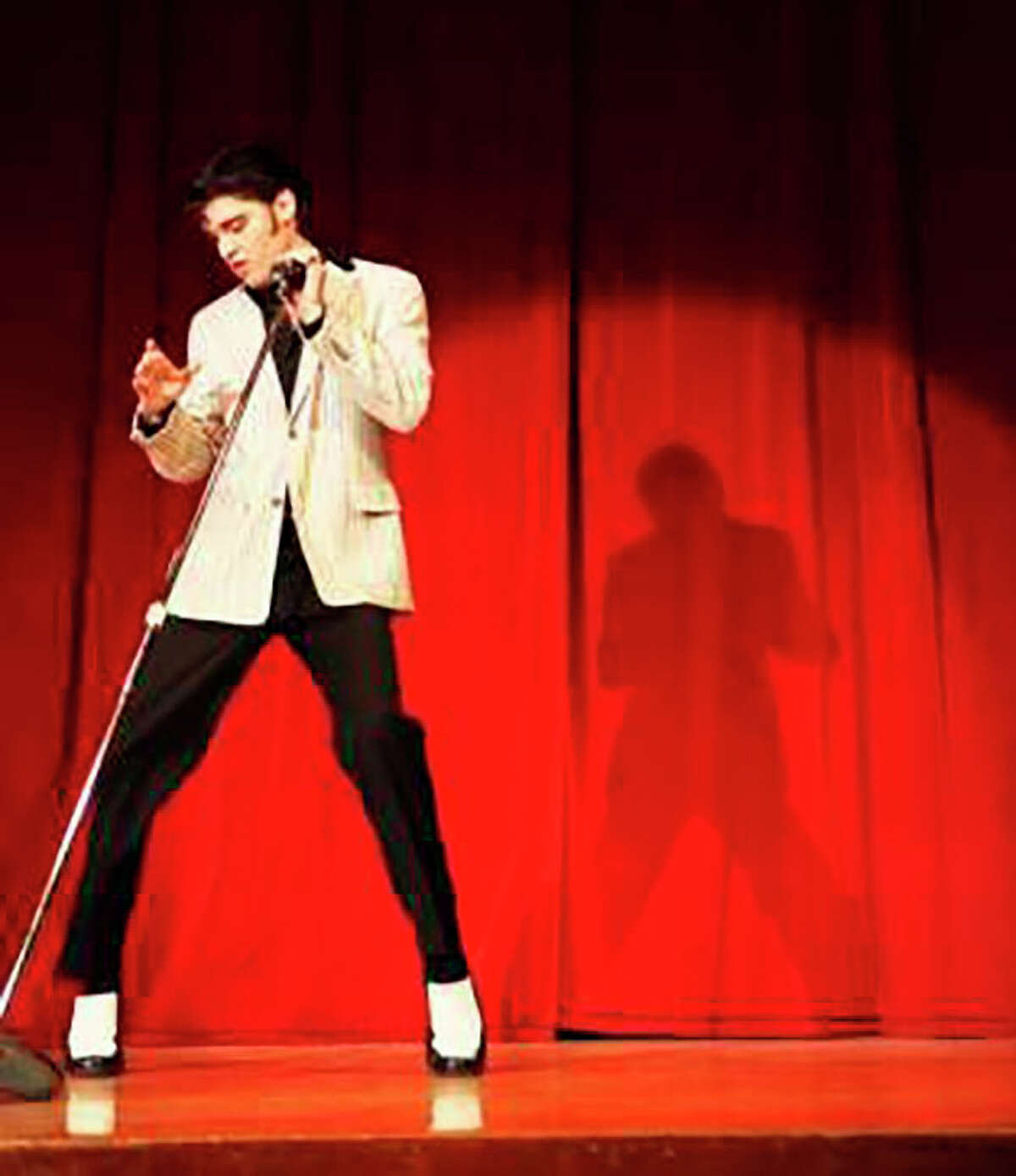Elvis impersonator Jake Slater will be kicking off Music on the River at 6:30 p.m. Friday, July 2, at Bromley Park, following a classic car show in downtown Mecosta.