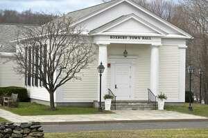 Roxbury Town Hall on March 18, 2016, Roxbury, Conn.
