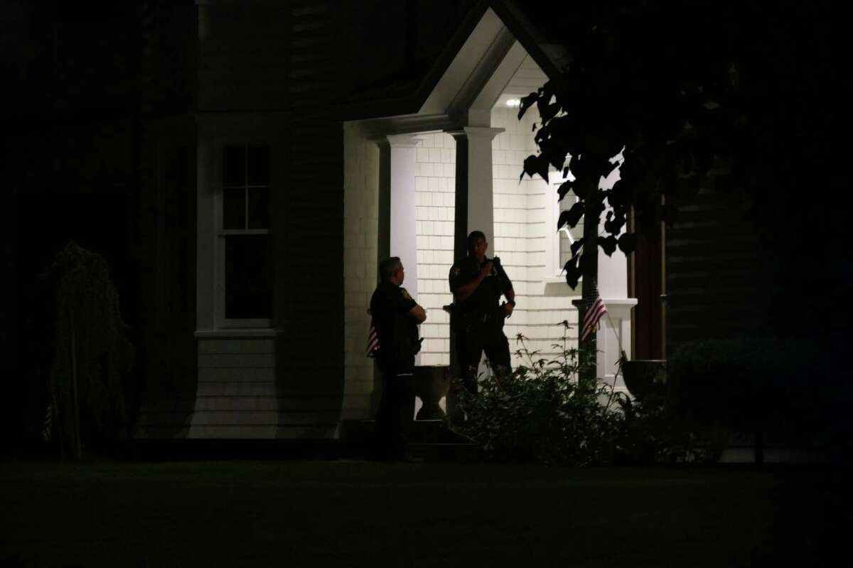 State and local police are investigating after a woman and a 7-year-old were both found dead in a home on Lyndale Park Thursday, June 17, 2021.