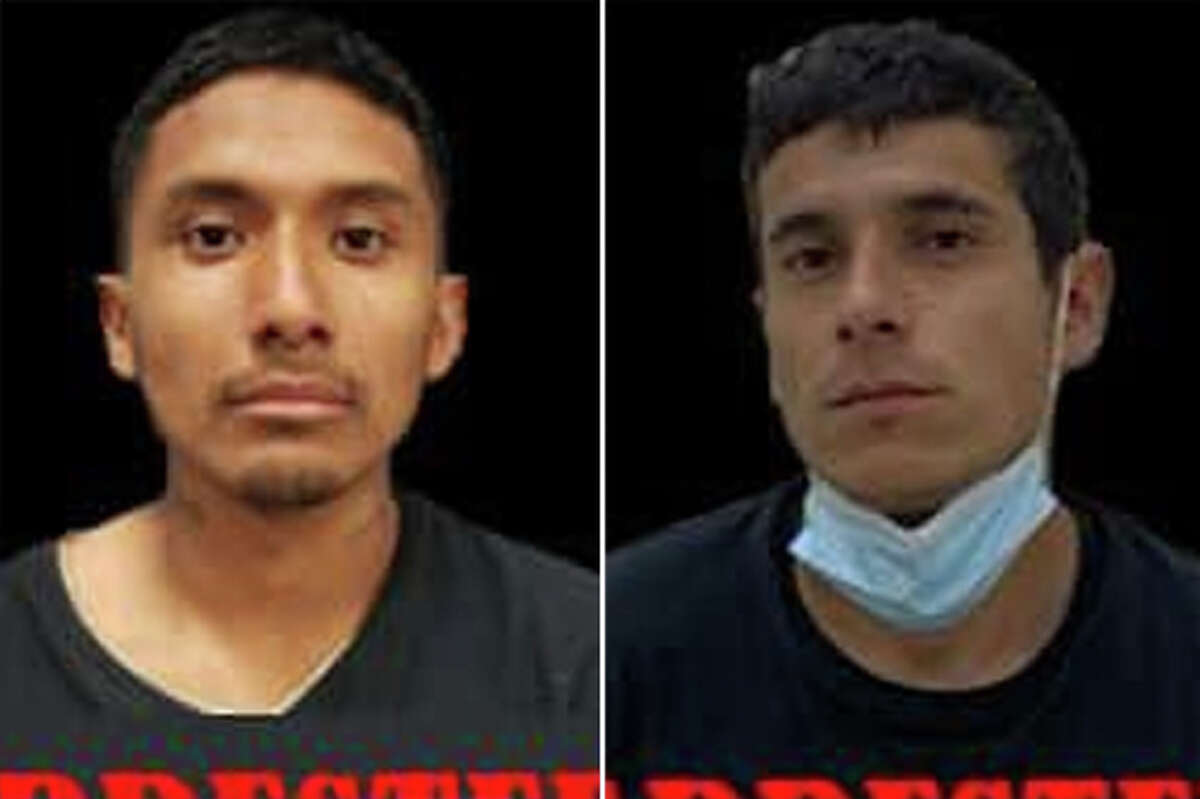 U.S. Border Patrol Laredo Sector agents arrested two migrants with active warrants, authorities said.