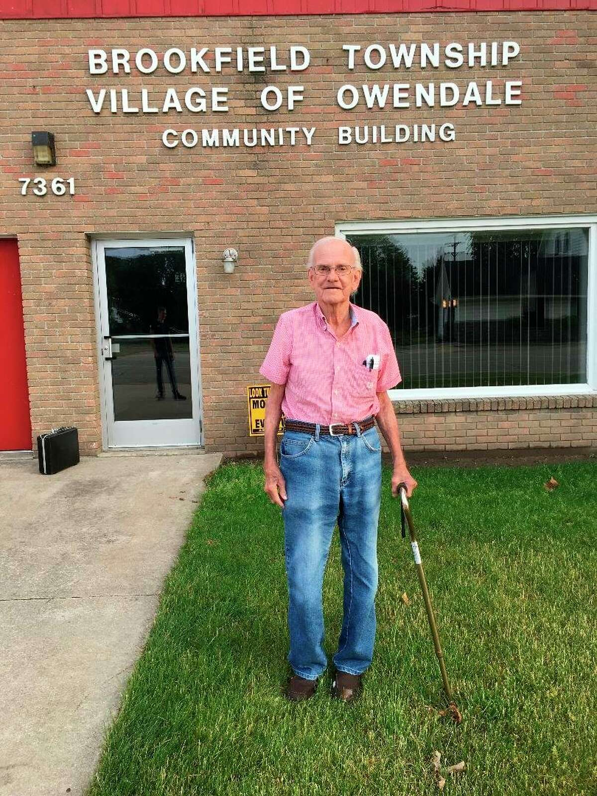 Owendale Village President Walter Howard has served on the village council for about 45 years. During that time, he worked to make the community the best it can be. (Courtesy Photo)