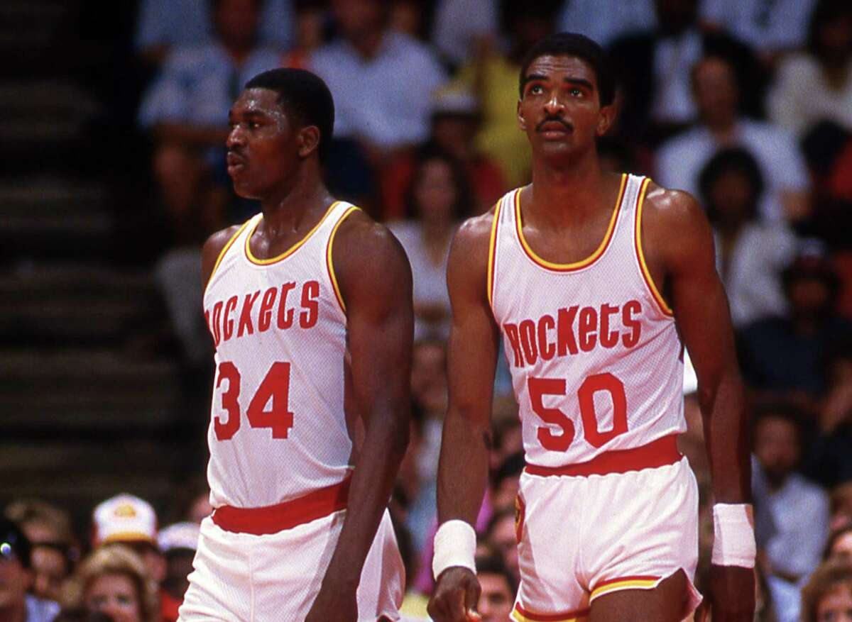 Before the lottery era, the Rockets won coin flips that gave them the right to draft Ralph Sampson (50) and Hakeem Olajuwon (34) No. 1 overall in 1984 and 1985, respectively.