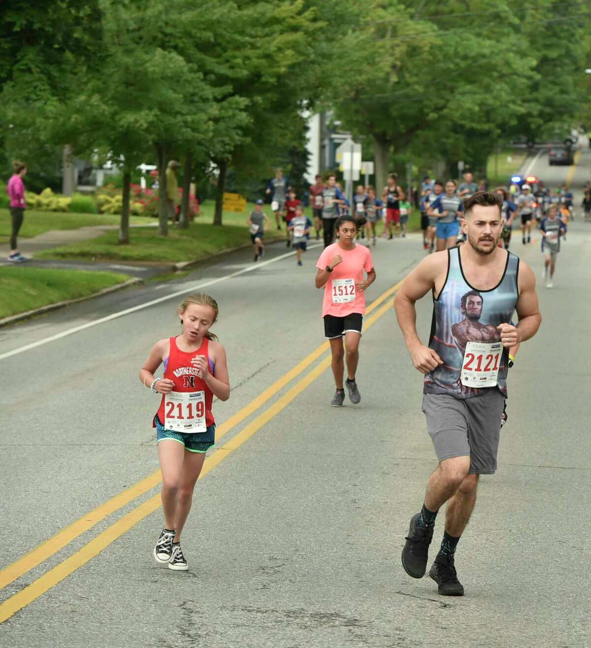 The Branford Road Race and Fun Run during the Branford Festival in 2019 in Branford.